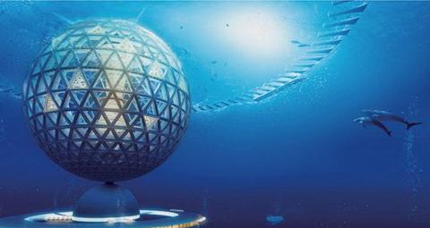 Япония строит город под водой