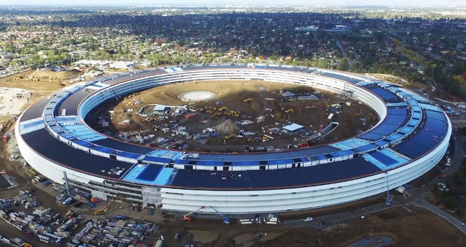 Строительство парка Apple