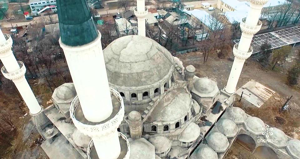 Самая большая мечеть в Средней Азии