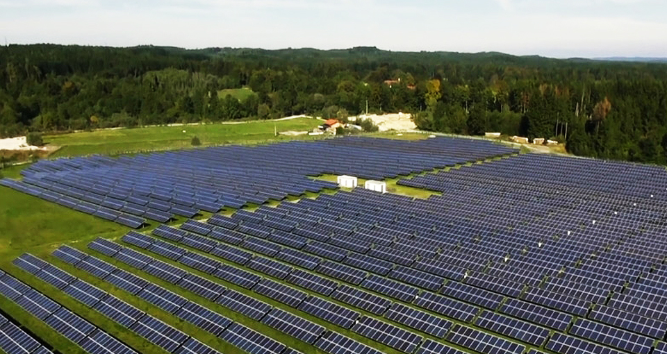 Строительство солнечной станции в Золотоноше
